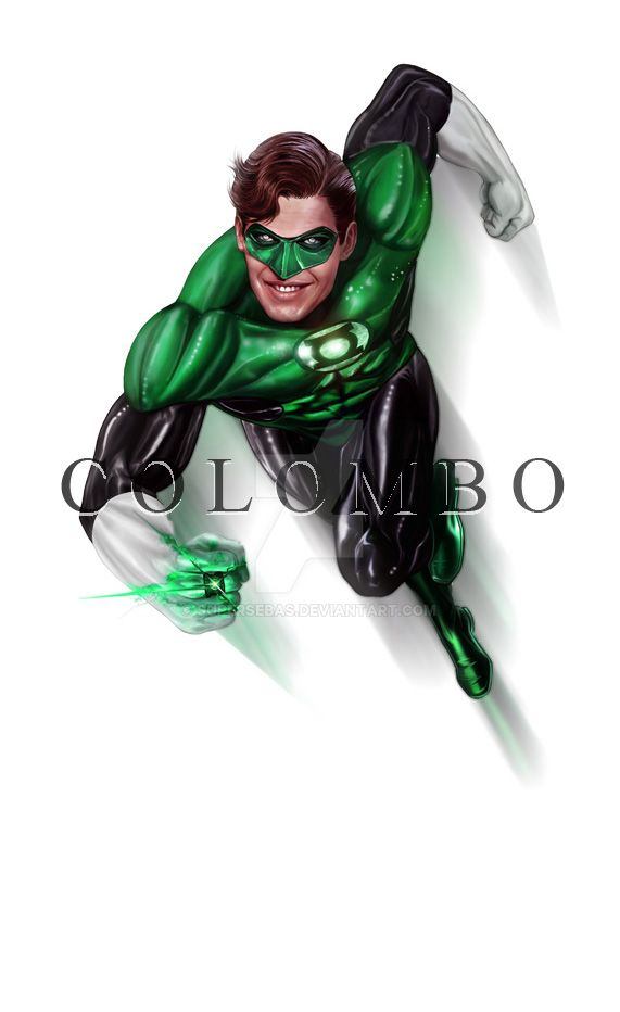GREEN LANTERN by supersebas