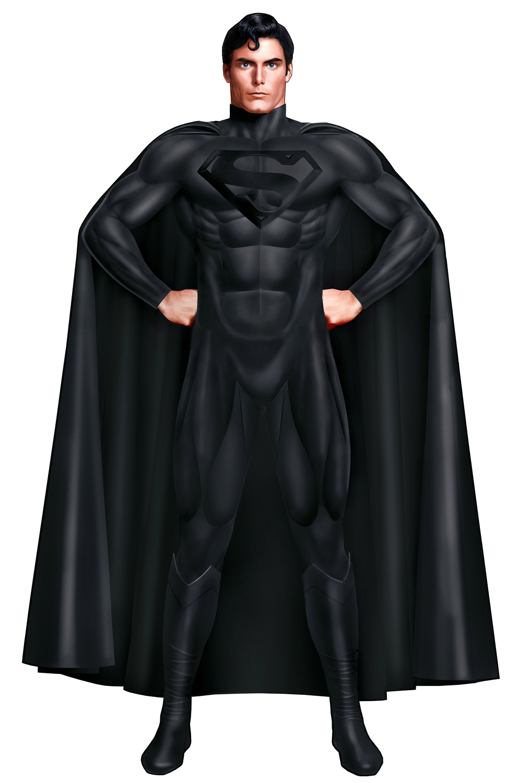 Black Suit Superman Superman Mourning Suit by