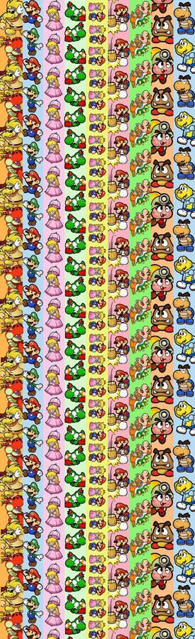 Mario Star Paper