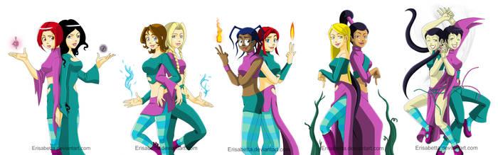 Kandrakar's Guardians by Erisabetta