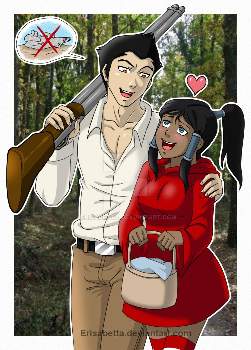 Lil Red Riding Makorra by Erisabetta on DeviantArt