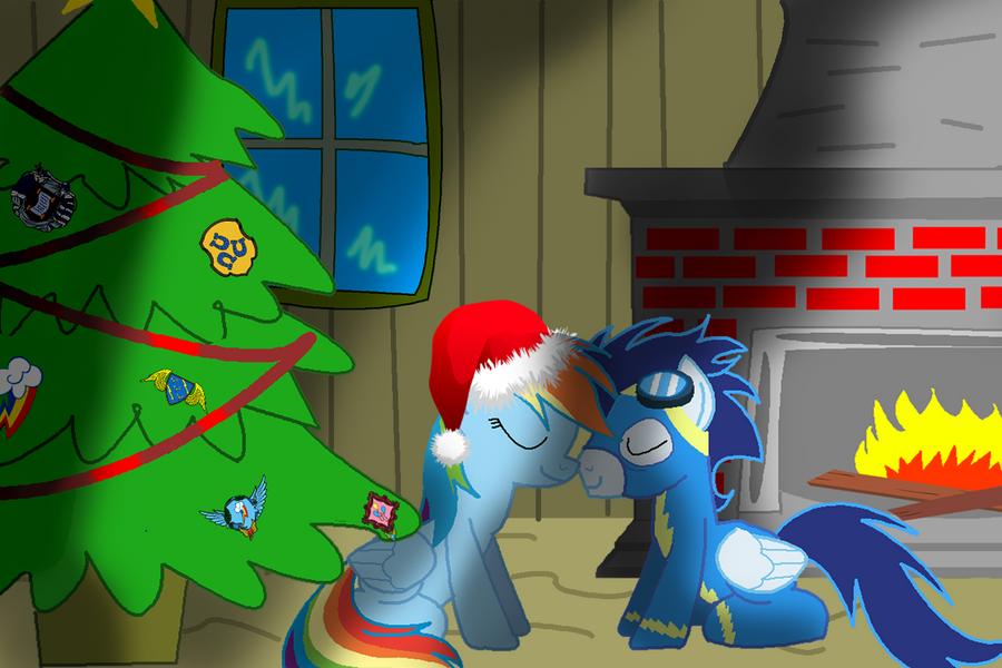 soarinXdash image contest entry: happy Christmas by MegaSupertacoman-YT