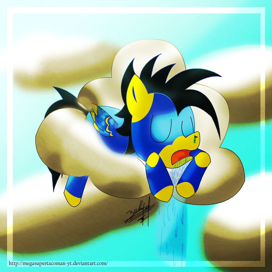 TAClOuds Ponee colored by MegaSupertacoman-YT