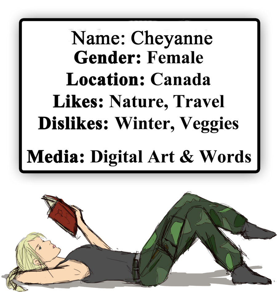 Cheyanne-Author's Profile Picture