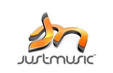 Justmusic logo