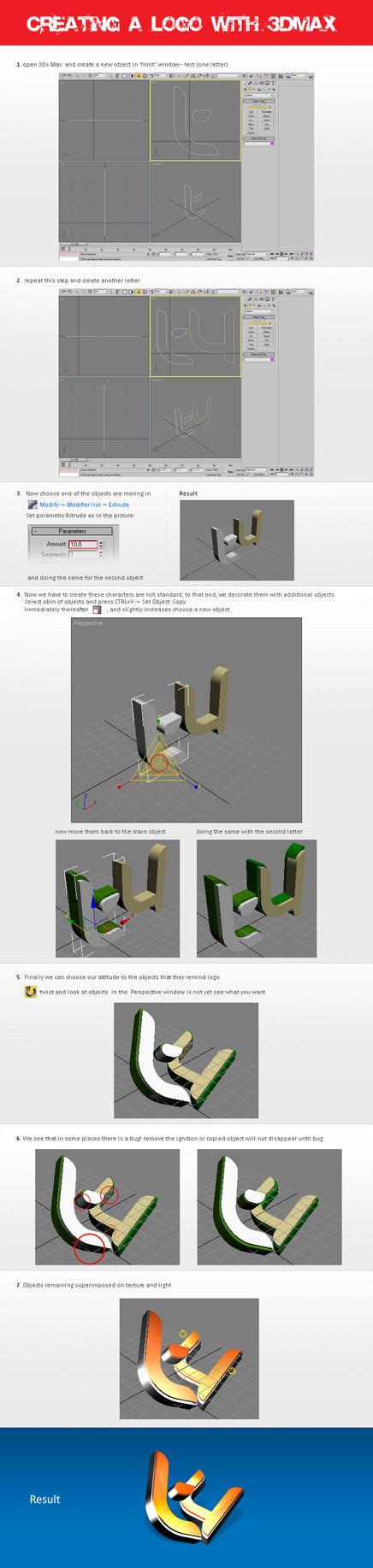 3D Text by taytel