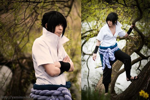 Sasuke Uchiha dark down by YamiNoShadow