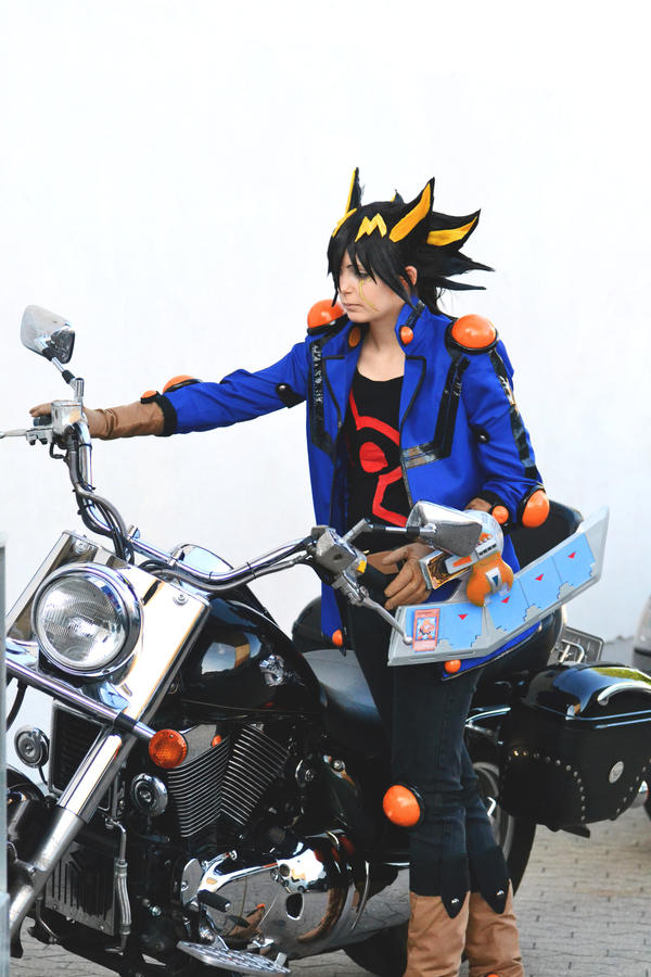 Yusei's new Motorcycles XD by ShadowFox-Cosplay