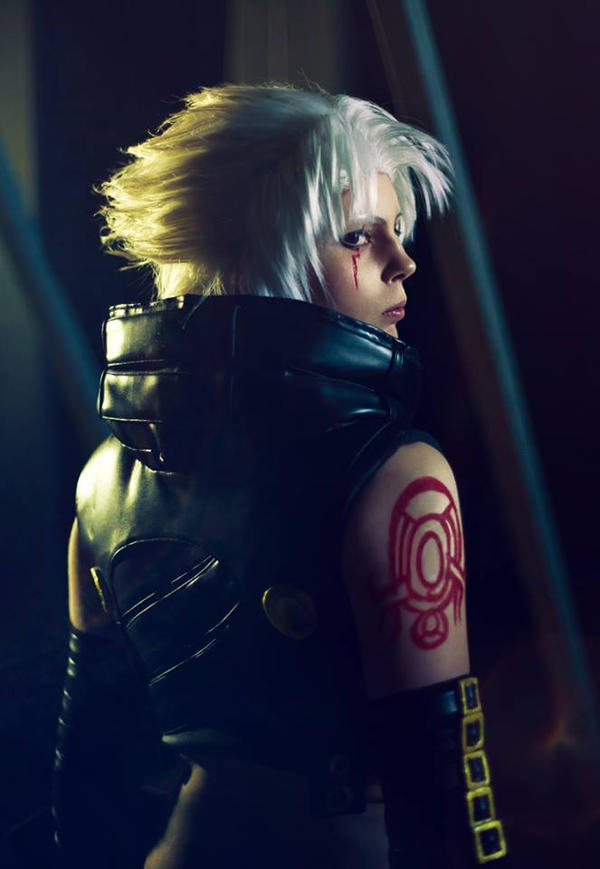 Haseo cosplay: Don't look down by YamiNoShadow