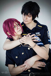 Rin and Sousuke Love by ShadowFox-Cosplay