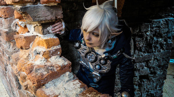 Alphinaud Cosplay in the castle 2 by ShadowFox-Cosplay
