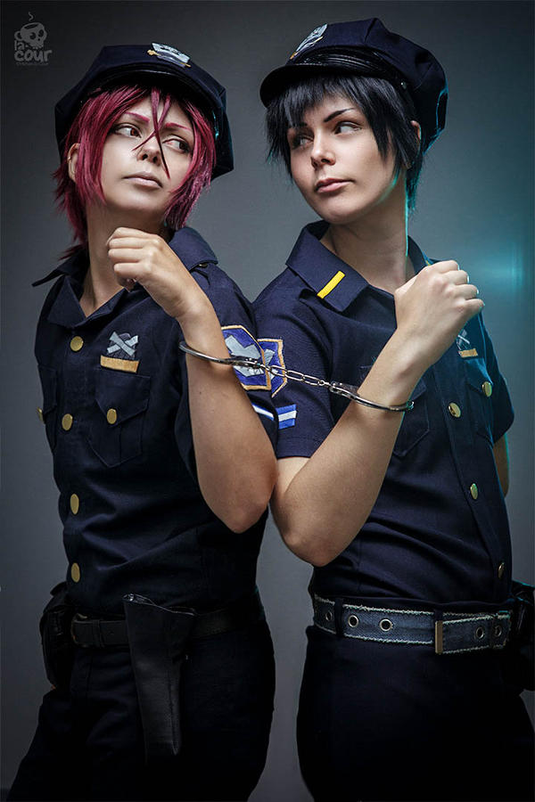 Rin and Sousuke - together by ShadowFox-Cosplay