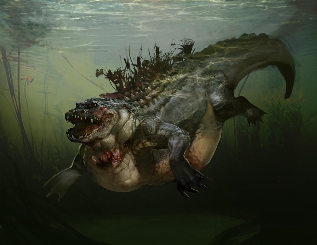 Zydeco  Aligator By AmberSandJ On DeviantArt