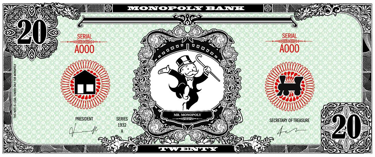 Monopoly Money on Monopoly-Art - DeviantArt
