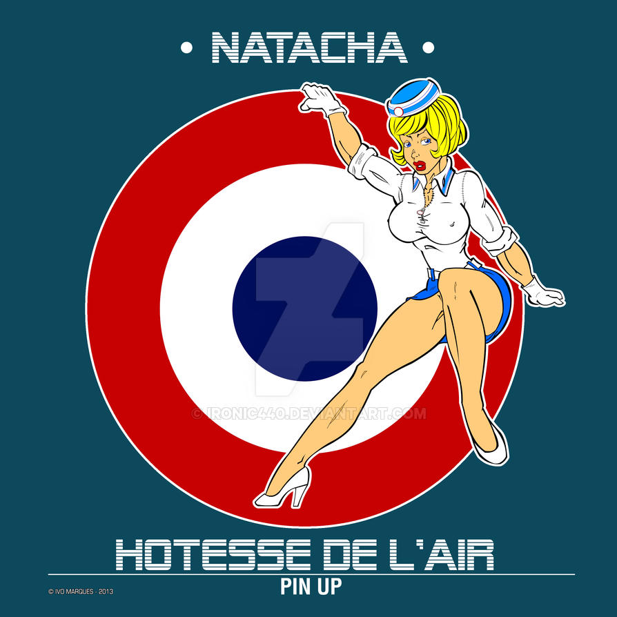 Natacha Pin up by ironic440