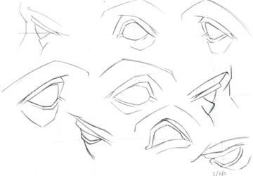 Anatomia Clasica: Ojos by barrabox