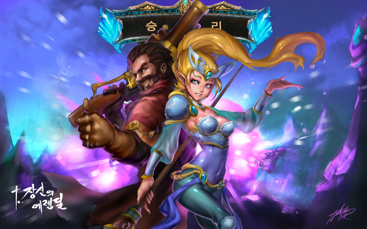 Victorious Janna by ptcrowVictorious Janna Wallpaper