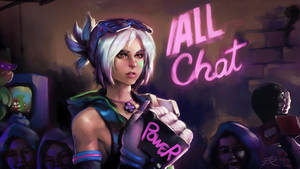 Arcade Riven with the /ALL chat ~full size