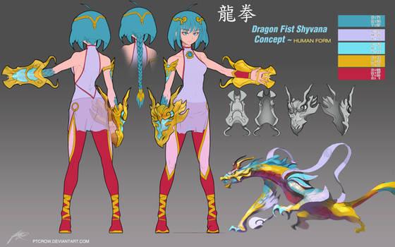Dragon Fist Shyvana ~Costume Concept +