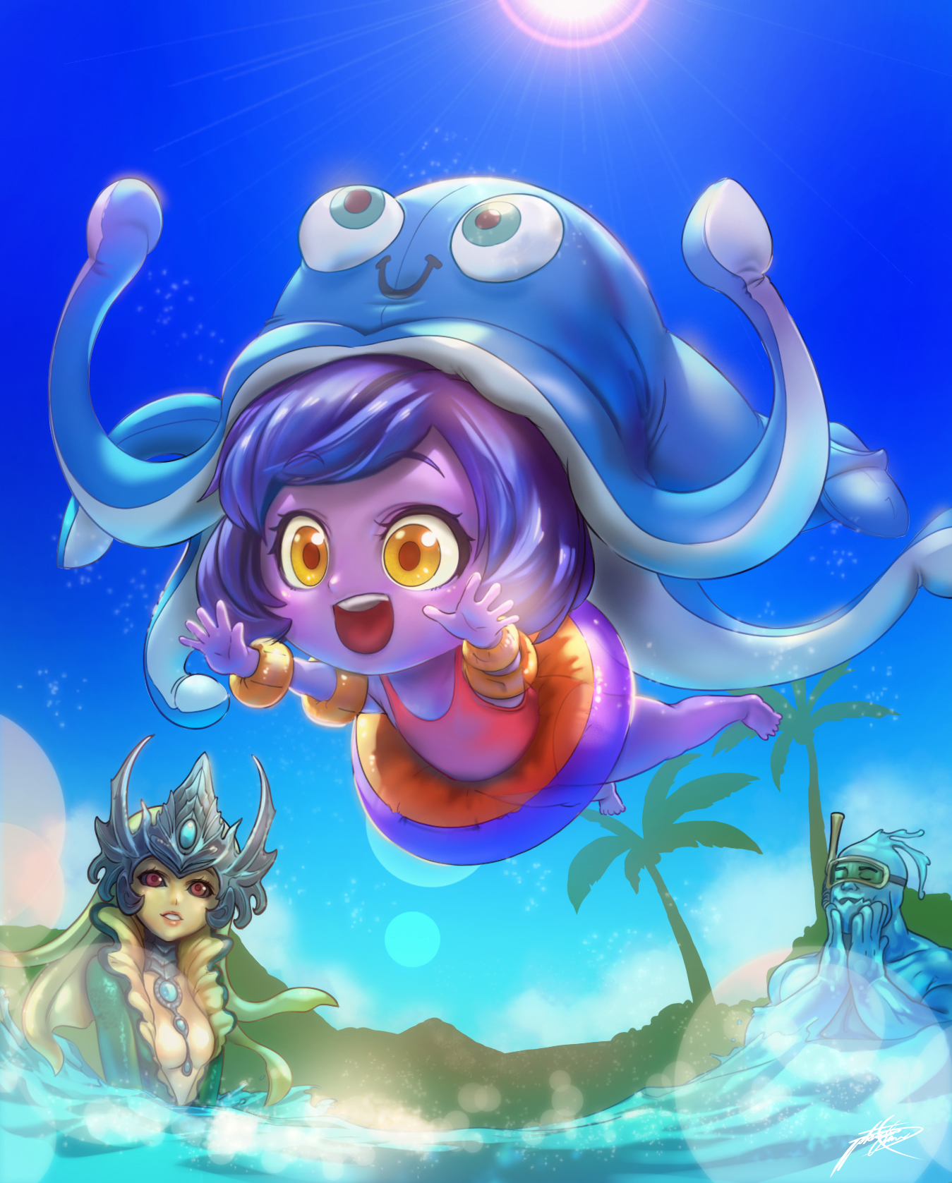 Pool Party Lulu!! by ptcrow