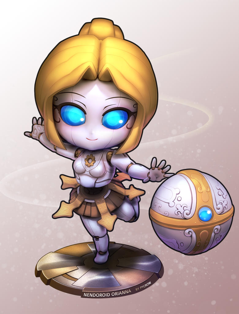 Nendoroid style Orianna by ptcrow