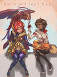 Quinn and Team Valor