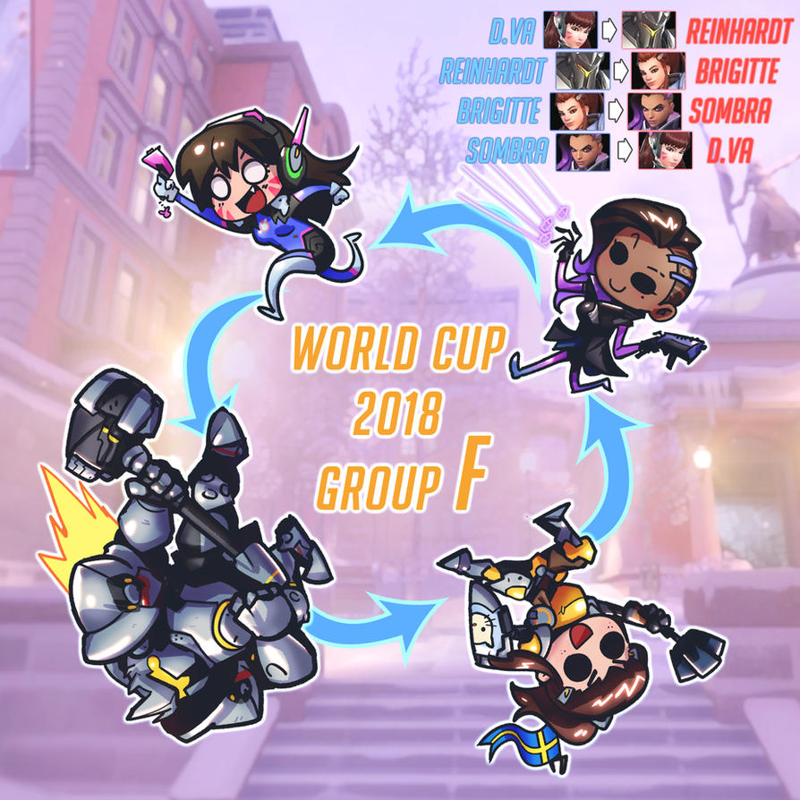 World Cup 2018 Group F ~Overwatch Style~ by ptcrow