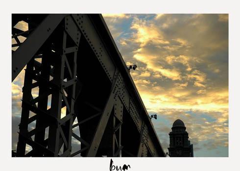 the bridge and the clocktower