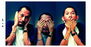 hear, see, say no evil by bumorticc