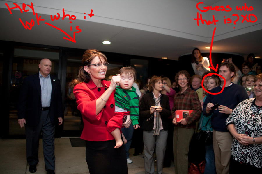 Sarah Palin leaving Zondervan by wolfgrl1492