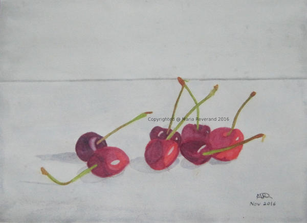 Cherries by MarieRiver