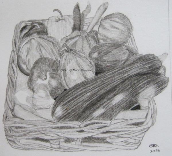 Basket of Veggies by MarieRiver