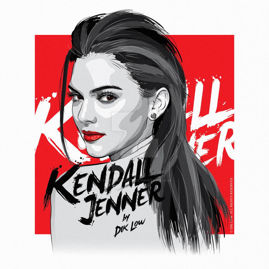 Kendall Jenner by dIk-ThePrince