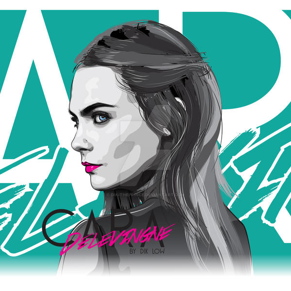 Cara Delevingne by dIk-ThePrince
