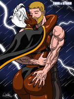 STORM x THOR [Commission] by Kaywest