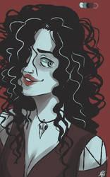[Palette Challenge] Bellatrix Lestrange by cassbutts
