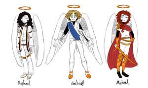 BATIM OC - The Three Archangel Designs