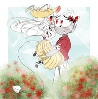 Cuphead - [Bonhead] I Just Wanted To See Her Happy by BlueM0usE