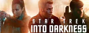 portada Star Trek into darkness by DarkKlaus3
