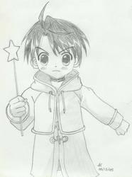 Negi Springfield__Child by slamduncan2115