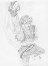 Street Fighter: Ken by slamduncan2115