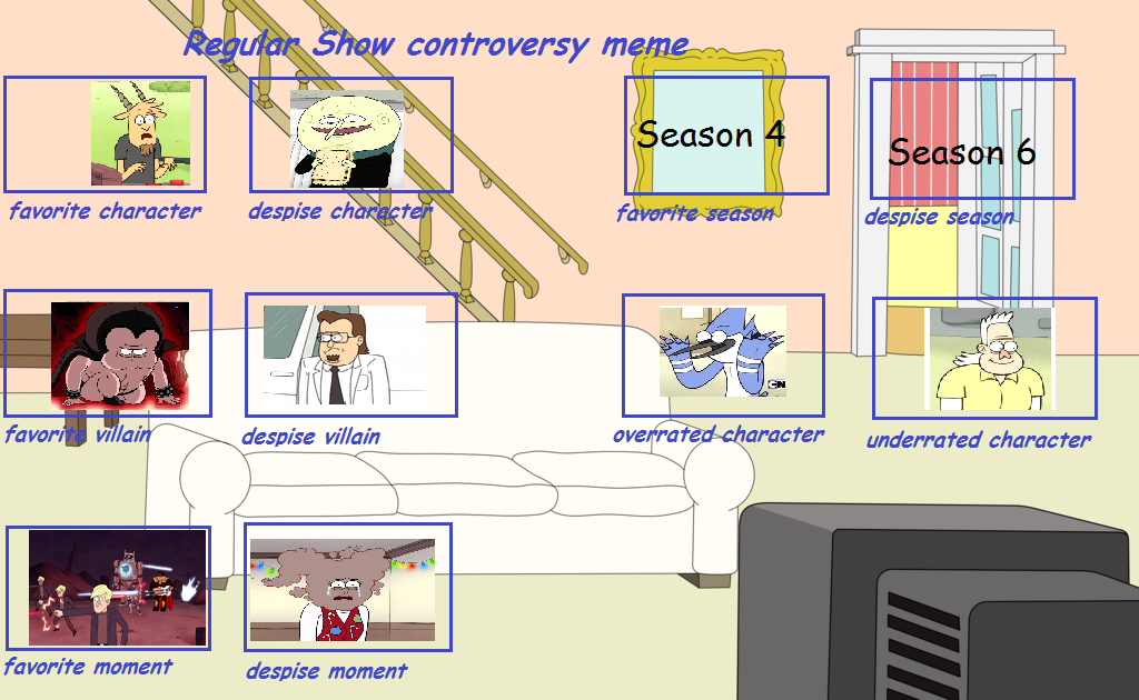 Regular Show Controversy Meme by chalatso on DeviantArtRegular Show Funny Meme