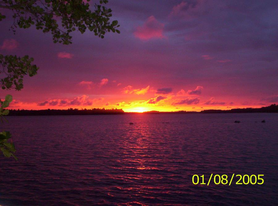 Sunset by Orkekum