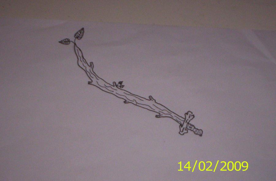 Wooden Sword by Orkekum
