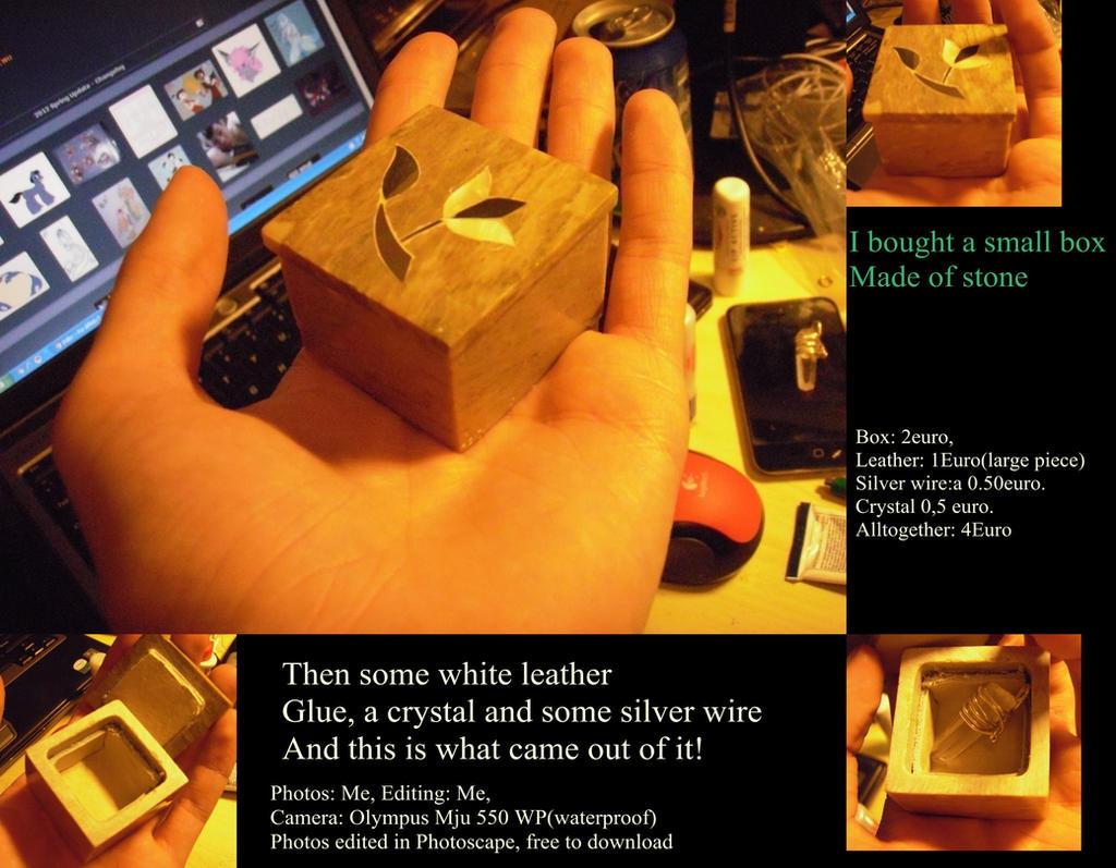 small stone Jewelry box by Orkekum