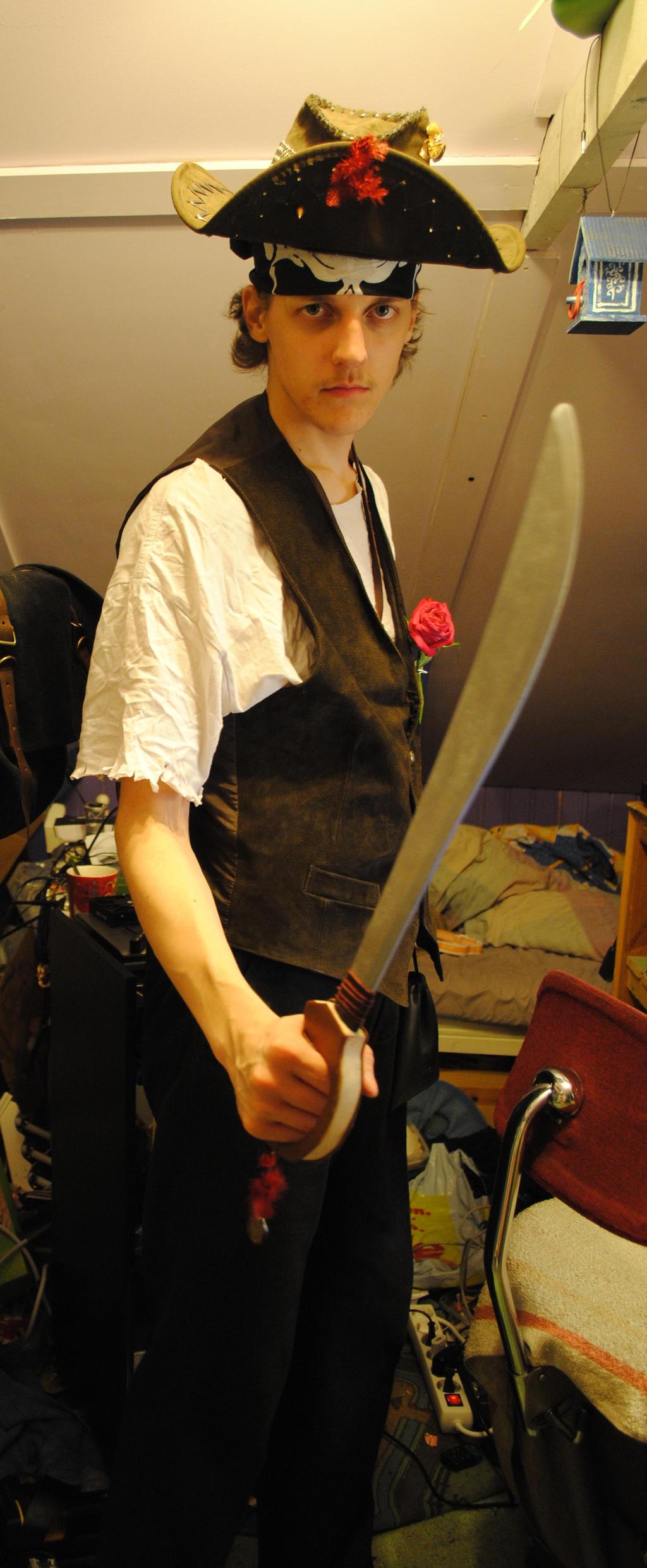 Yarr harr pirate. by Orkekum