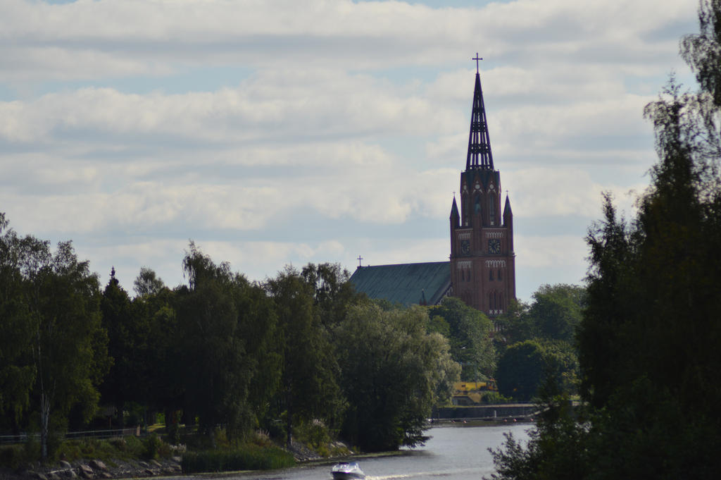 pori church by Orkekum
