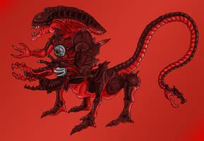 Killer Crab Alien by Escama