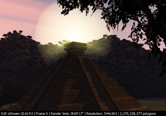 [VUE xStream] Orignal Landscape: Detail 1 by EliniLinxfoot