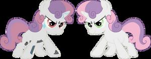 Sweetie Belle and Sweetie Bot